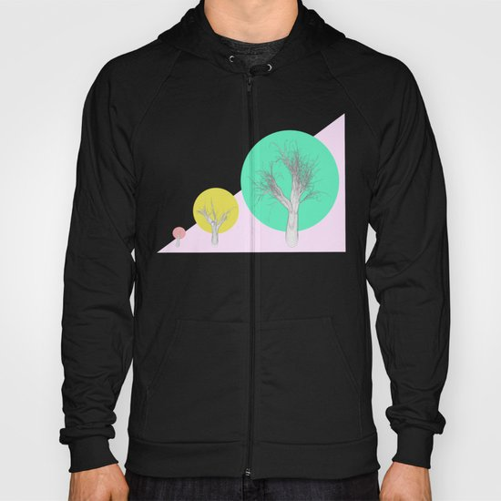In my world forests are geometric Hoody