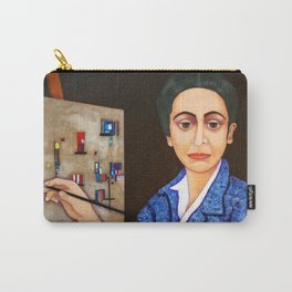 M. Helena Vieira da Silva - dialogue between abstraction and figuration Carry-All Pouch