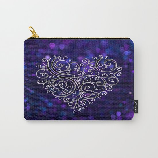 Ever After Heart Carry-All Pouch