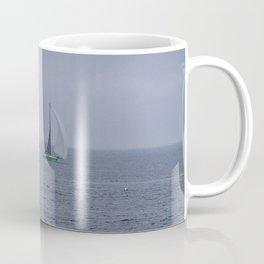 part 1 of 4 of Sailing Battle 42-56  - Transat Quebec St-Malo Coffee Mug