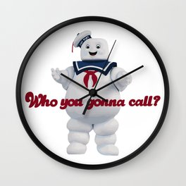 Who you gonna call? Wall Clock