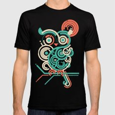 Owl 2.0 LARGE Mens Fitted Tee Black