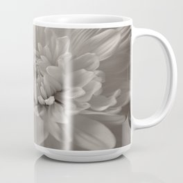 Monochrome chrysanthemum close-up Coffee Mug