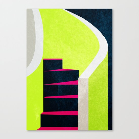 Stairs 03. Canvas Print