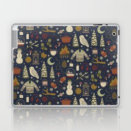 Winter Nights Laptop & iPad Skin