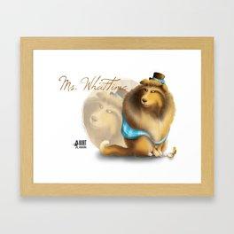 Ms. WhatTime Framed Art Print