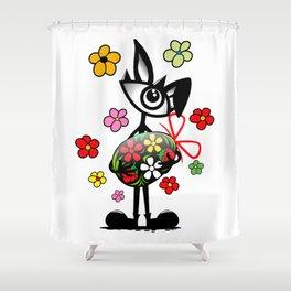 eye Easter Shower Curtain