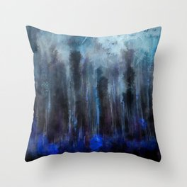 Forest of soul Throw Pillow