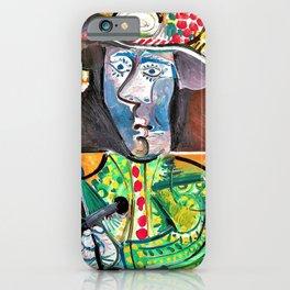 Pablo Picasso - Le Matador - Digital Remastered Edition iPhone Case