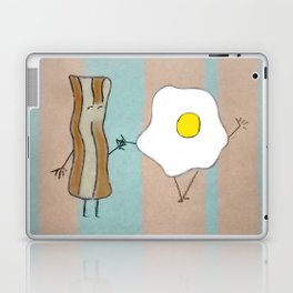 Bacon & Egg Togetherness Laptop & iPad Skin