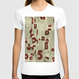 Absract Collage T-shirt
