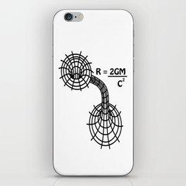 Black hole - The Schwarzschild Radius - Gravitational Radius iPhone Skin