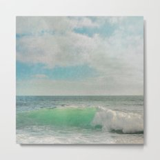 The Painted Sea Metal Print