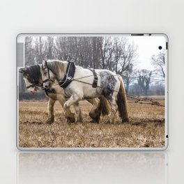 The Winter Plough Laptop & iPad Skin