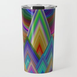 Summer Night at the Mountains Travel Mug