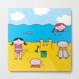 Beach Metal Print
