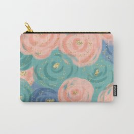 Prim Florals Carry-All Pouch