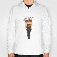 viking Hoodies featuring viking by kureiii