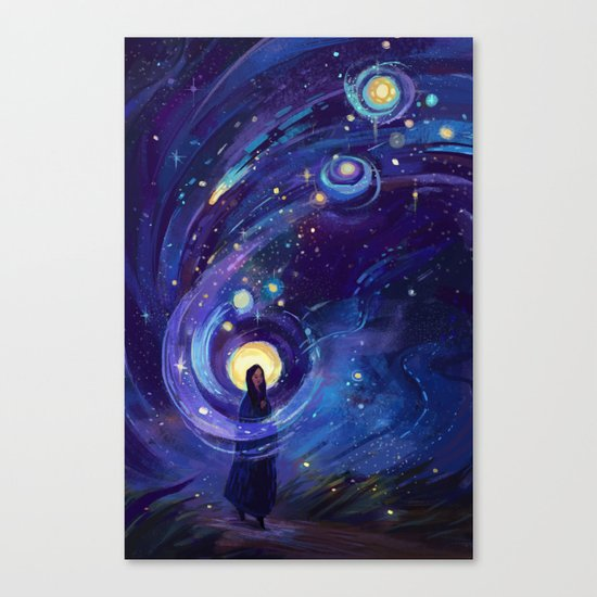 Of the Stars Canvas Print