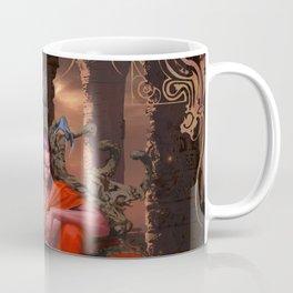 Fight for Nova's Throne (Petra & Yveun from the Loom Saga) Coffee Mug