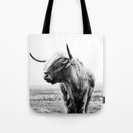 Highland Cow Art Tote Bag