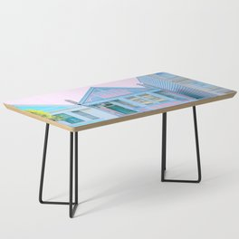 San Francisco Painted Lady Victorian House Coffee Table