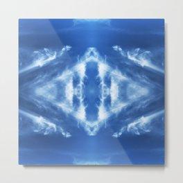 Tie Dye Sky Metal Print