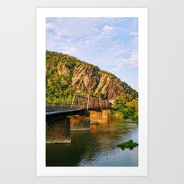 Majestic mountains (Harper's Ferry, WV) Art Print
