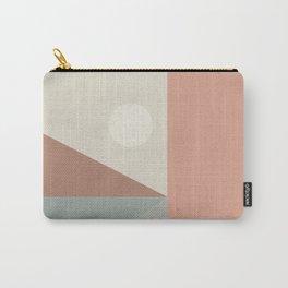 Geometric Landscape 01 Carry-All Pouch