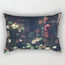 Coral Wall Rectangular Pillow
