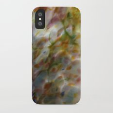 Abstract Dots Slim Case iPhone X