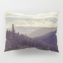 Above The Mountains Pillow Sham