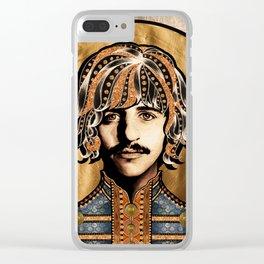 Boho Beatle ( Ringo ) Clear iPhone Case