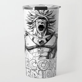 BECOME LEGENDARY- BROLY SUPER SAIYAN Travel Mug