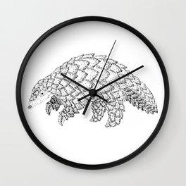 Manis Crassicaudata Wall Clock