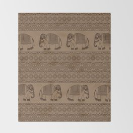 The Procession Throw Blanket