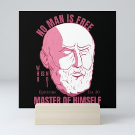 EPICTETUS QUOTE Mini Art Print