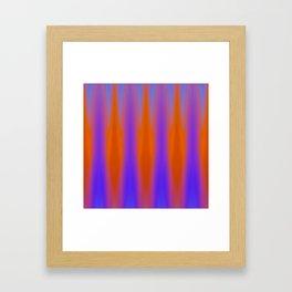 divided heat Framed Art Print