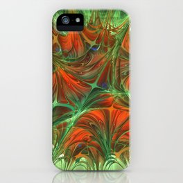 Sparked skid iPhone Case