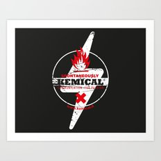 Spontaneously Kemical Art Print