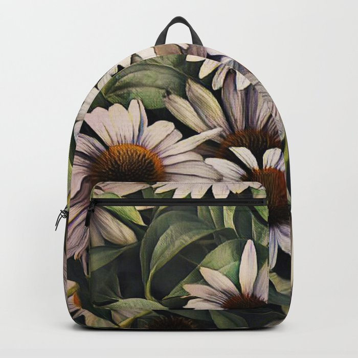 Cone Flowers Backpack