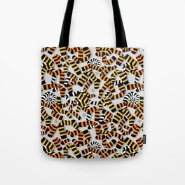 Tiger Toes and Laundry Terrors Tote Bag
