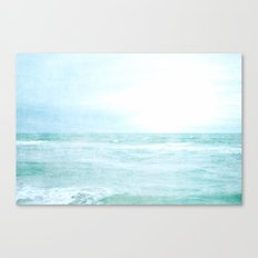 Me and the Sea Canvas Print