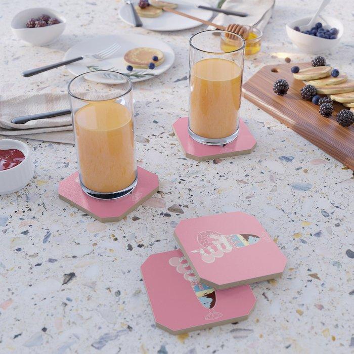 Sugar Sunrise Coaster