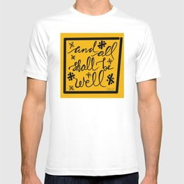 And All Shall Be Well Julian of Norwich T-shirt