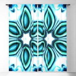 Star Flower of Symmetry 116 Blackout Curtain