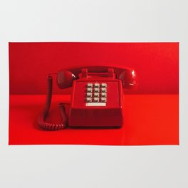 Red Phone Rug