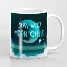Stay wild moon child Night teal Mug