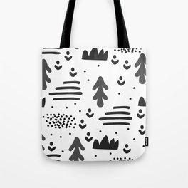 Sandinavian absract art Tote Bag