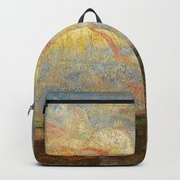 Adam and Eve Expelled from the Garden of Eden by James Ensor Backpack